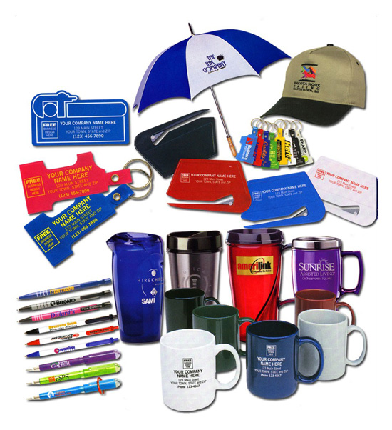 Branded promotional business gifts