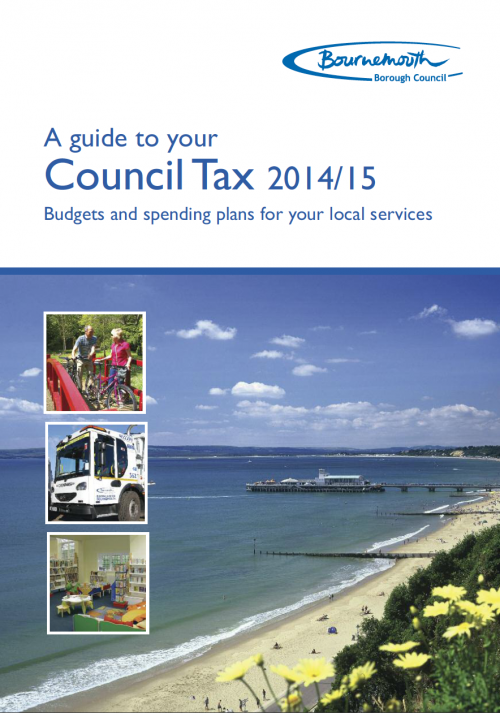 Bournemouth Council Tax Booklet