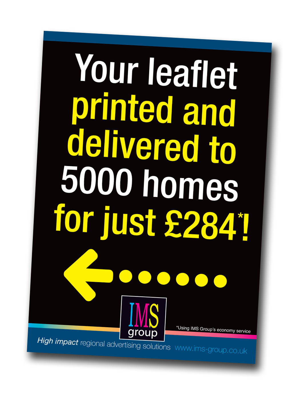 Leaflet printing and distribution special offer
