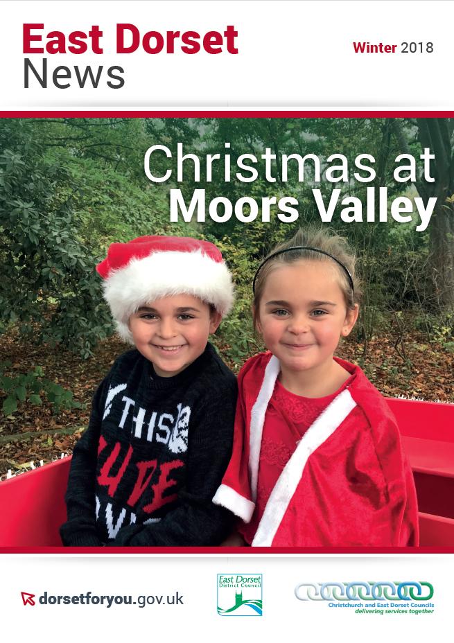 EDN East Dorset News Winter 2018 cover